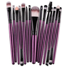 Hot 15pcs set Makeup Brush Set Cosmetic Foundation blending pencil brushes