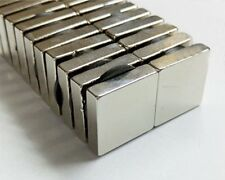 New 5/10/20Pcs N35 20mm x 20mmx5mm Strong Square Rare Earth Neodymium Magnets