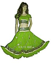 Sequance Embroidered Skirt-Top Set Bollywood Dancing Costume Belly Dance Tribal