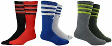 New Adidas Climalite Compression Odor Resistant Men Crew Socks 2 Pack Basketball