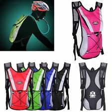 2L Cycling Backpack Water Bag Hiking Pouch Climbing Hydration Pack With Bladder