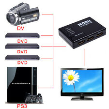 1080P HDMI Switch Remote Video Switcher Selector Splitter Hub For HDTV HD