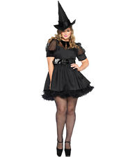 New Leg Avenue 85238X Plus Size Bewitching Witch Halloween Costume