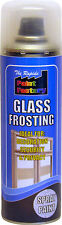 Glass Frosting 300ML Spray Privacy Aerosol Decorating Security Frosted Windows