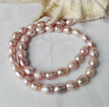 variations 6-8mm rice Genuine Natural freshwater pearl loose beads necklace