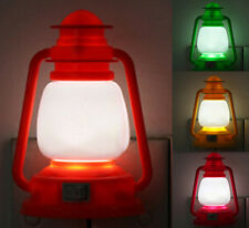 Hot Xmas Vintage lamp Gift LED Night Light Night Color Changing Lamp Decoration