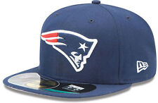 New Era New England Patriots NFL On Field Cap 5950 Authentic Fitted Basecap 7-8