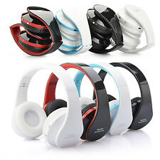 Foldable Wireless Stereo Bluetooth Headphone Earphone Headset 3.5mm For Samsung