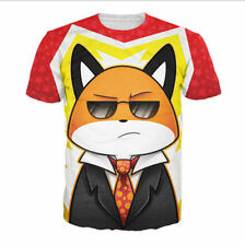 New Fashion Women/Mens adorable fox cute animals Funny 3D Print Casual T-Shirt