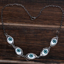 Fashion Jewelry Vintage Eyes Pendant Necklace Women Accessory Clavicle Chain E7