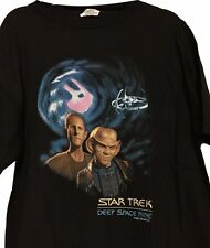 Star Trek Deep Space Nine Odo and Quark Black Tee Shirt Multiple Sizes Available