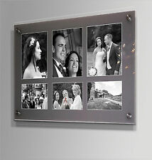 "Gloss cheshire acrylic 20x24"" multi picture photo frame for 3x 6x4 & 3x 8x6"""
