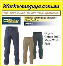 BISLEY WORKWEAR - Original Cotton Drill Work Pants - Mens, Work or Casual BP6007
