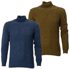 Gabicci Vintage Mens Jumper Knitwear Long Sleeve Rool Neck Sweater Size S-XXL
