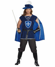 New Dreamgirl 10000 Mighty Musketeer Adult Mens Costume