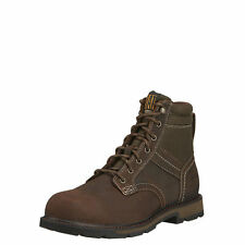 MEN'S ARIAT LACE UP GROUNDBREAKER WORK BOOT H20 STEEL TOE 10016257