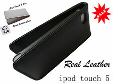 Real Leather Case Pouch 5 iPod Touch,iTouch 5G,5th Gen UK Seller