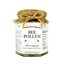 Raw BEE POLLEN, Organic, PREMIUM QUALITY, 100% Natural - 100g (Harvest: 09.2016)