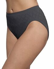 3 Pair Barely There Comfort Revolution Microfiber Seamless Hi Cut Panty Diamond