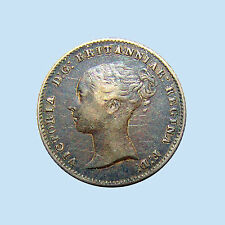1844 Four Pence Silver, Groat, Queen Victoria, Great Britain, KM# 731.1 XF+++!!!