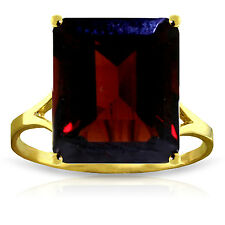 Brand New 7 CTW 14K Solid Gold Ring Natural Octagon Garnet