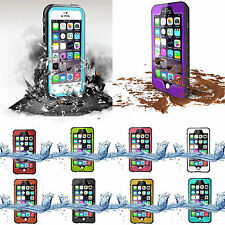 IP68 Waterproof Dropproof DirtProof Snowproof Case Cover For iPhone 6 6S Plus