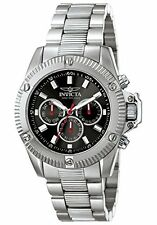 New Men's Invicta 5717 Specialty Swiss Chrono Black Dial Stainless Steel Watch