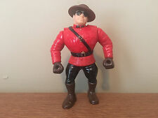 HASBRO WWF BLUE CARD SERIES #5  WRESTLING FIGURE ~ THE MOUNTIE