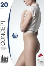 Ibici Concept 20 - Luxury No Waistband Sheer to Waist Hipster Pantyhose