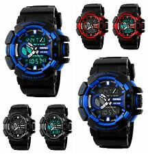 Fashion Mens Waterproof Digital Sports Watch Army Military Dress Water Resistant