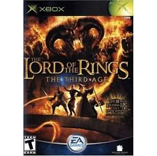 Lord of the Rings The Third Age on Xbox Original Vgc