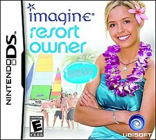 Imagine: Resort Owner (Nintendo DS, 2010) New