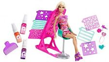 Barbie Hairtastic Colour and Design Salon Doll Playset Toy