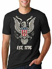 USA America United State T-shirt Eagle Est 1776 4th of July T-shirt Independence