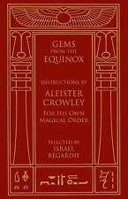 Gems from the Equinox Instructions by Aleister Crowley BOOK Occult Ritual Magick