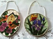 Beautiful Sun Catchers (Stained Glass) Lot of 2! (new!)