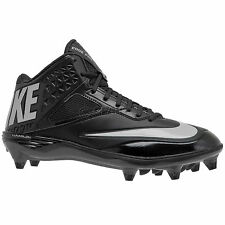 new-nike-lunar-code-pro-34-mid-d-mens-football-cleats-detachable-studs-black