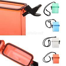 Waterproof Box Case Holder Plastic Phone Key Storage Container Camping Beach