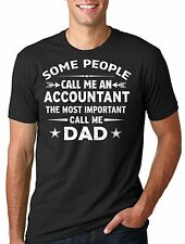 Accountant Dad T-shirt CPA Father Dad Gift father's Day Tee Shirt Gift Tee