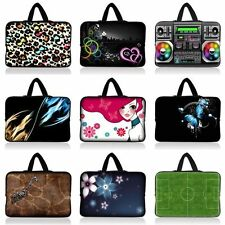 "14"" 14.1"" Laptop Notebook PC Sleeve Bag Ultrabook Case Cover Pouch  Hide Handle"
