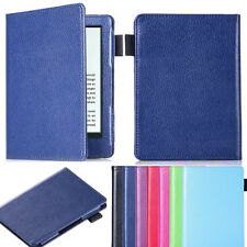 "PU Leather Flip Book Style Case Cover Skin For 6"" Amazon New Kindle 2016 eReader"
