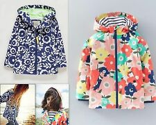 NEW Ex Mini Boden Jersey Lined Anorak Raincoat Jacket Shower Resistant Age 2-8Y