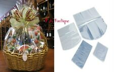 """*YOU CHOOSE QTY!* 29""""x34"""" Dome Shrink Wrap Film Gift Bags (100 Gauge) CLEAR"""