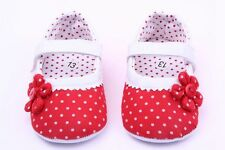Cute Girls Flower Baby Shoes Soft Sole Toddler PU Leather Crib Comfortable Shoes