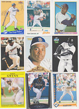 TONY GWYNN San Diego Padres HALL of FAME,23 different Baseball Card Lot,Free S/H