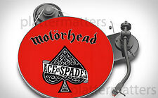 Ltd Edition MOTORHEAD Ace of Spades 7 or 12 inch TURNTABLE platter MAT *see all*