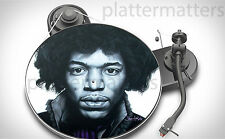 Ltd Edition Record Collector's  JIMI HENDRIX  7 or 12 inch TURNTABLE platter MAT