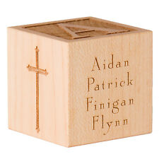 Personalized Baptism Gift Personalized Baptism Block Personalized Baptism Cube