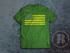 Portland Timbers Green & Gold US Flag T-Shirt PTFC RCTID Rose City - Youth