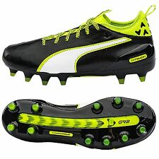 Puma Youth Cleats EvoTouch 1 FG Junior Soccer Football Shoes Spikes GYM 10374901